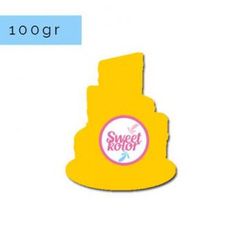 Fondant Amarillo Huevo 100 gr Sweet Kolor