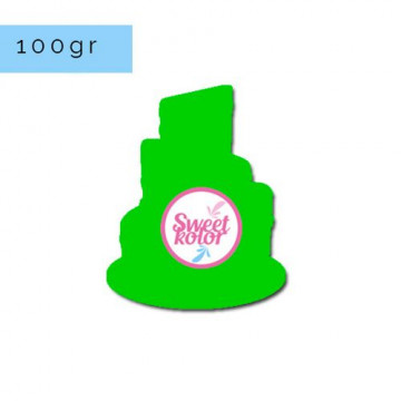 Fondant Verde 100 gr Sweet Kolor