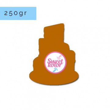 Fondant Marrón 250 gr Sweet Kolor