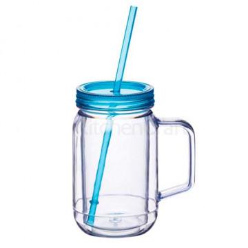 Jarra de plástico con asa Azul Kitchen Craft