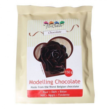 Chocolate plástico de chocolate con leche Funcakes [CLONE]