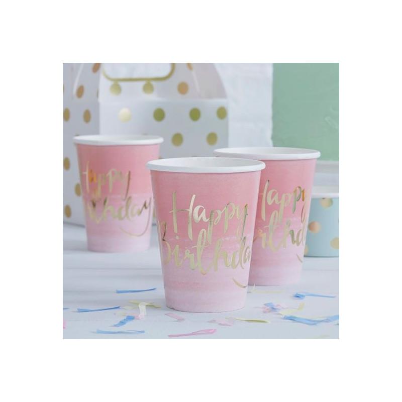 Vasos de papel Flores Vintage [CLONE]