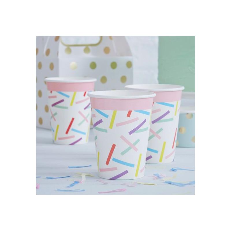 Vasos de papel Flores Vintage [CLONE] [CLONE]
