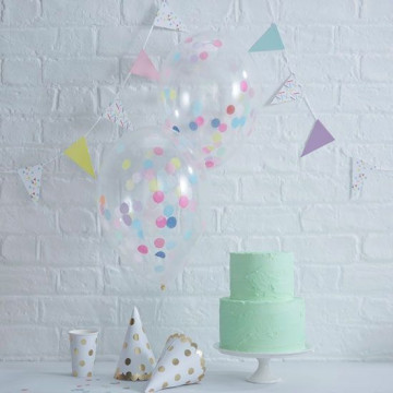 Globos de fiesta Confetti Pick and Mix