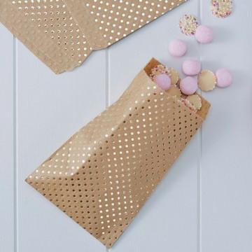 Bolsas de papel Kraft con Lunares [CLONE]