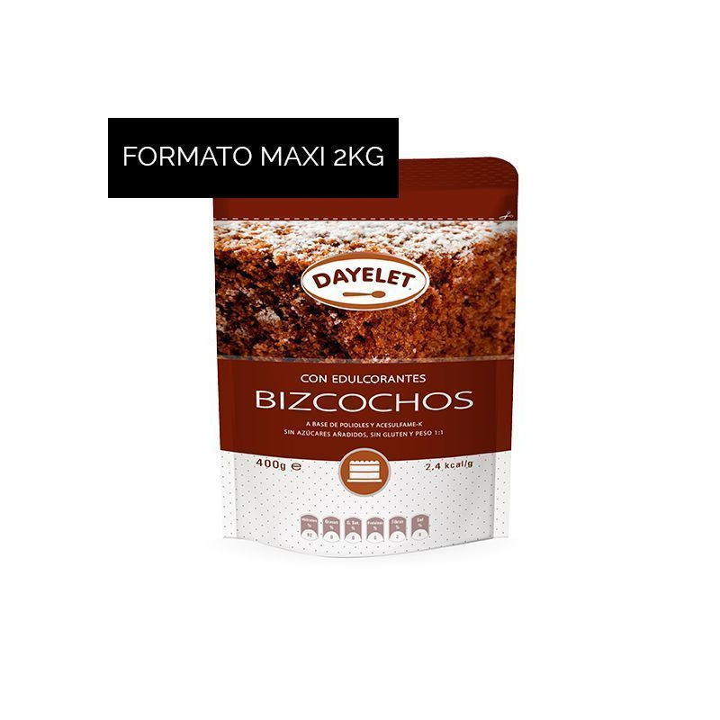Endulzante sin azúcar para Bizcochos Minis 350gr Dayelet [CLONE]
