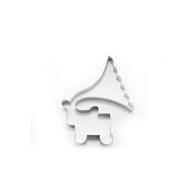 Cortante de galleta Gramófono