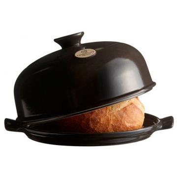 Molde Horno Cerámica de Pan negro Emile Henry