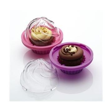 Conservador individual para cupcakes
