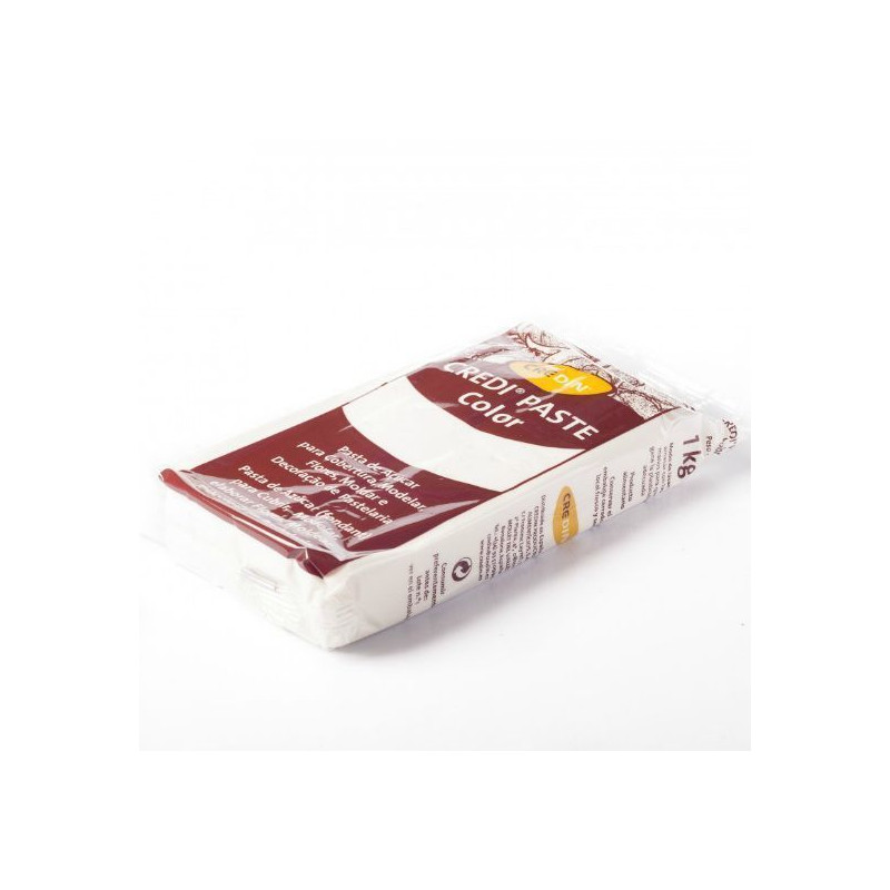 Fondant listo para usar Blanco 1kg Credipaste