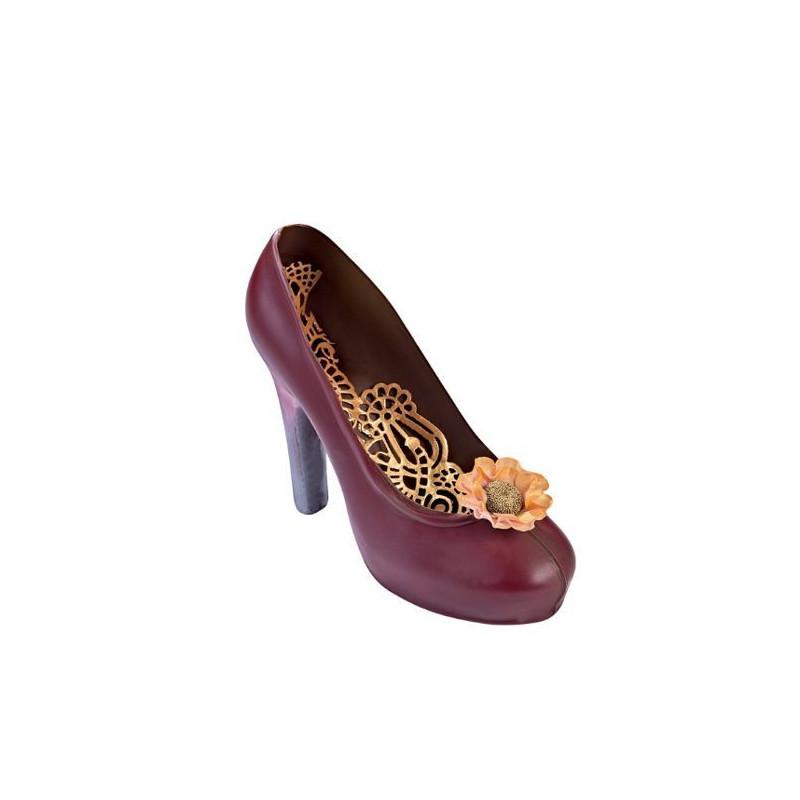 Molde de policarbonato Zapato de Tacón Martellato
