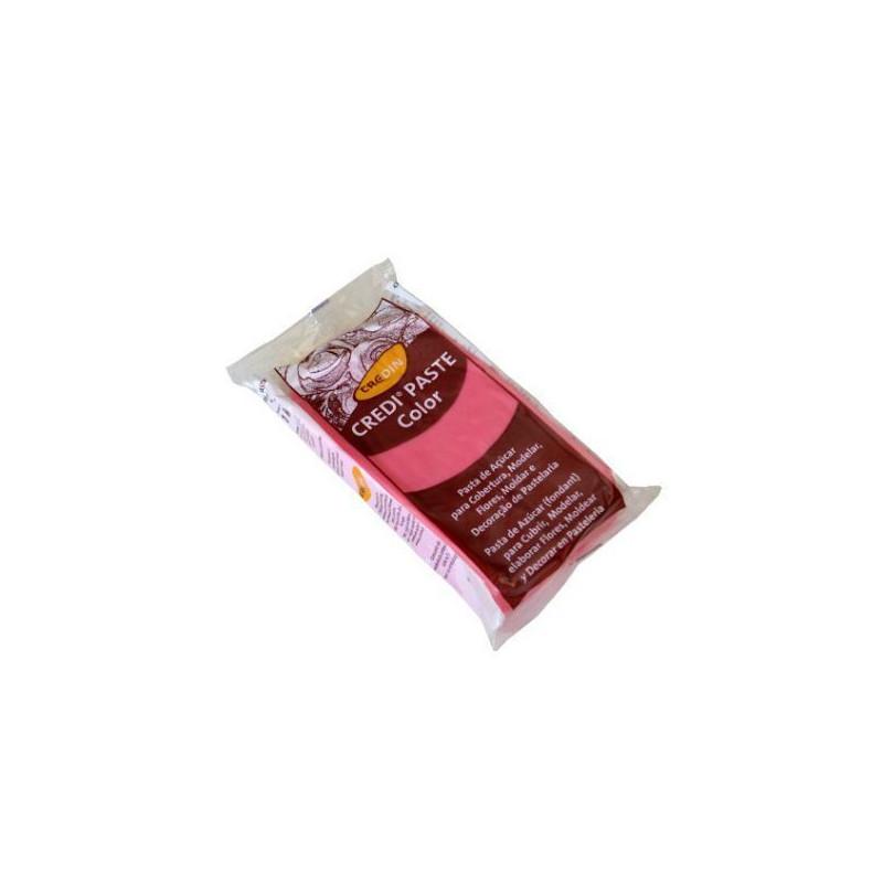 Fondant listo para usar Rosa 1kg Credipaste