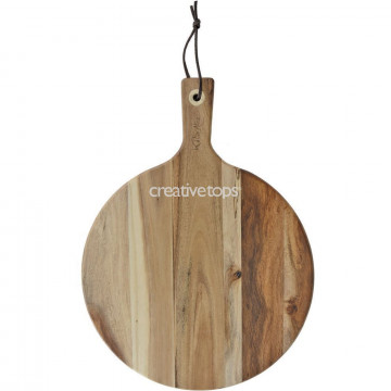 Tabla de corte de madera redonda Katie Alice
