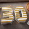 Molde de bizcocho Letras y Números Wilton