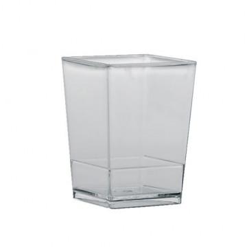 Pack de 10 Vasitos Cuadrados de Poliestileno [CLONE]