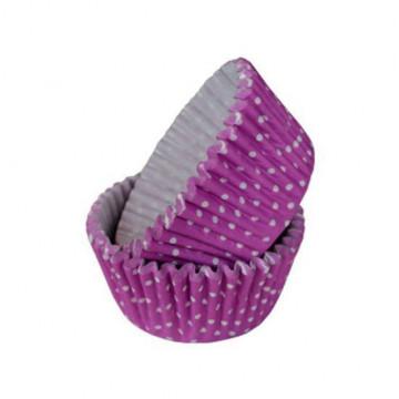 Cápsulas de cupcakes Lunares violeta Squires Kitchen