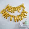 Pack de globos Happy Birthday