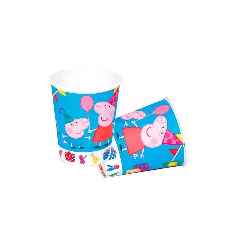 Vasos fiesta Peppa Pig