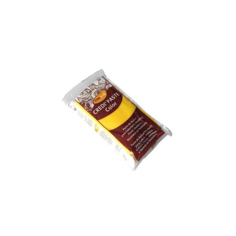 Fondant listo para usar Amarillo 1kg Credipaste