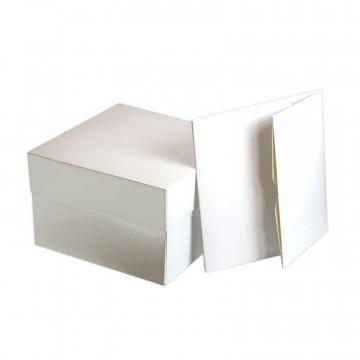 Caja para tarta de 20 cm blanca