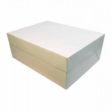 Caja para tartas rectangular 30 x 22 cm