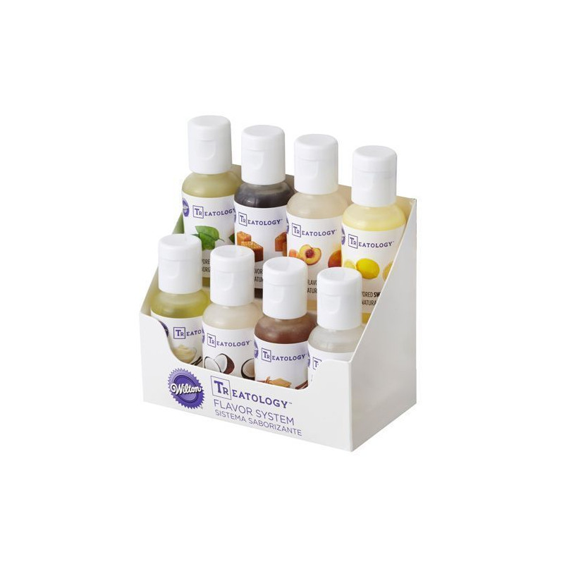 Pack de 8 aromas Treatology Wilton