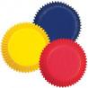 Capsulas mini cupcakes colores primarios Wilton