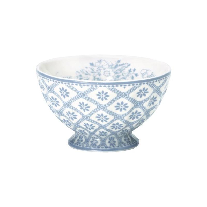 Bol de cerámica pequeño Bianca Dusty Blue Green Gate