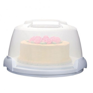 Caja transportadora Redonda Ultimate Cake Candy Wilton