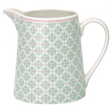 Lechera de cerámica Jill Mint Green Gate