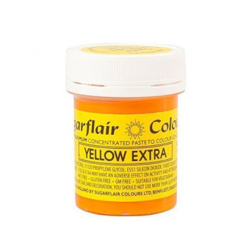 Colorante en pasta Yellow Extra Amarillo Sugarflair