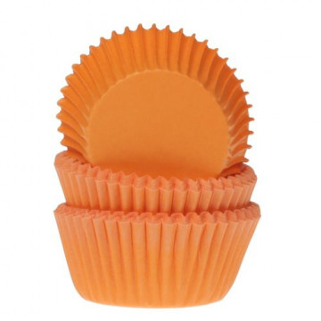 Capsulas mini cupcakes Naranja House of Marie