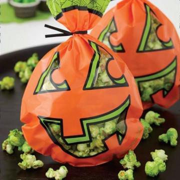 Pack de 15 bolsas Calabaza Halloween Wilton
