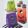 Pack de 6 bolsas Monstruos Halloween Wilton
