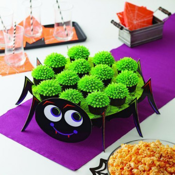 Stand para tartas Araña Halloween Wilton