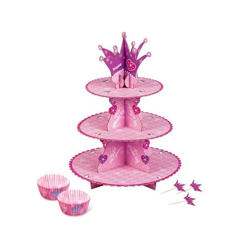 Stand de presentación cupcakes Princess Wilton