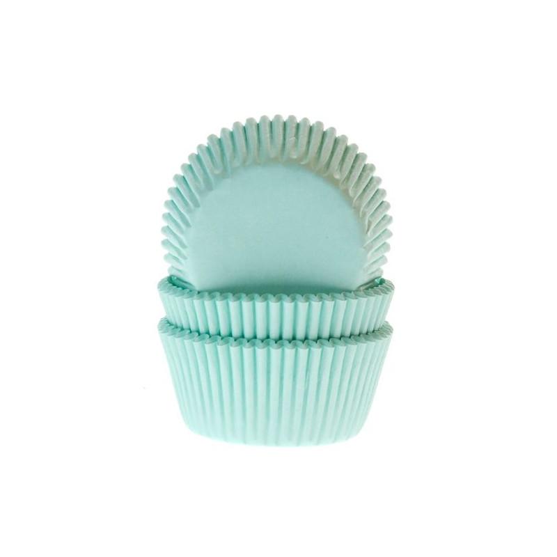 Cápsulas de cupcakes Verde Menta House of Marie