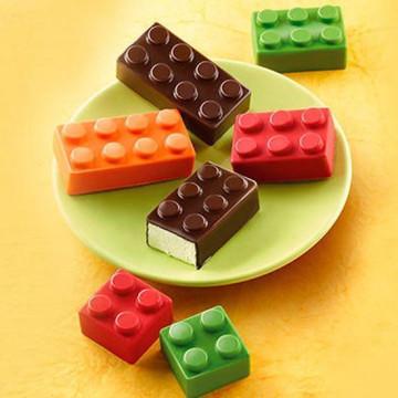 Molde de silicona Bloques de Contrucción Choco Block Silikomart