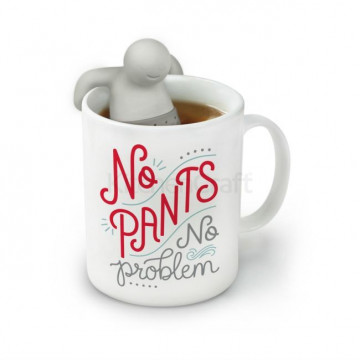 Taza + Infusionera No Pants No Problem Fred