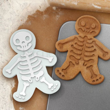 Cortante y marcador de galleta Esqueleto Halloween Kitchen Craft