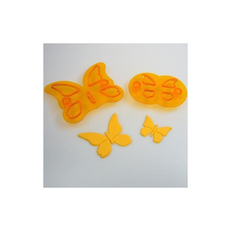 Cortante piezas mariposas Set 2 JEM