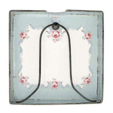 Servilletero de cerámica Simone White Green Gate [CLONE] [CLONE]