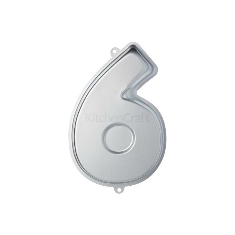 Molde de bizcocho número 0 Kitchen Craft [CLONE] [CLONE] [CLONE] [CLONE] [CLONE] [CLONE]