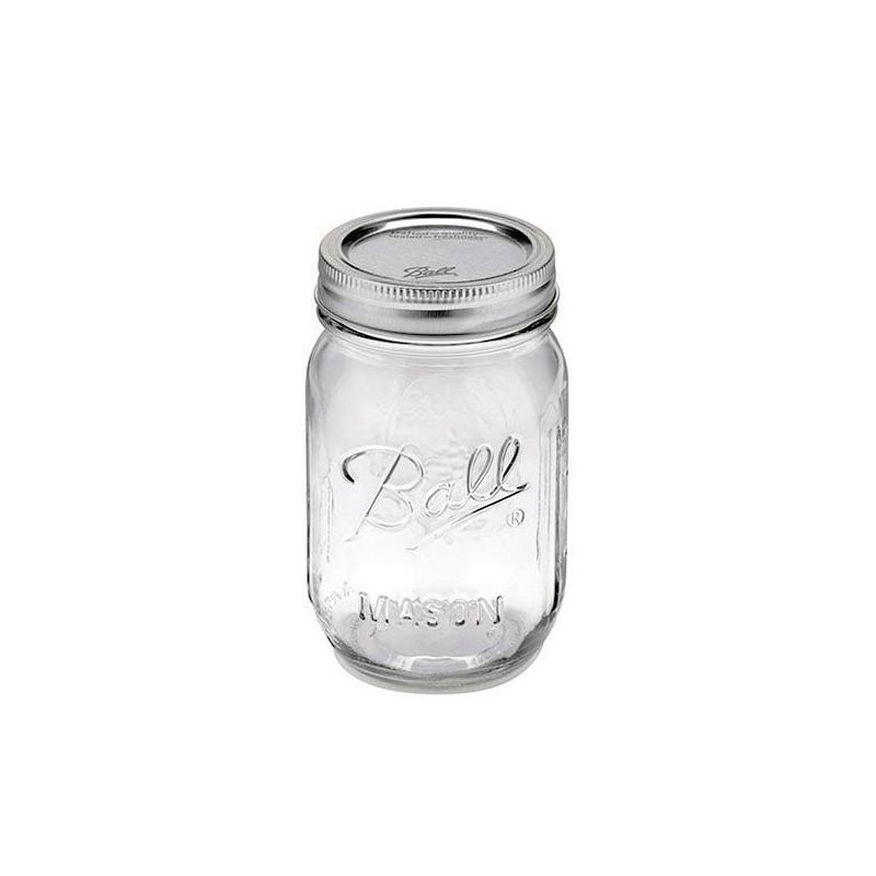 Tarro de cristal con tapa 240 ml Ball Mason Jar [CLONE] [CLONE]