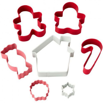 Pack de 7 cortantes Casa de Jengibre Wilton