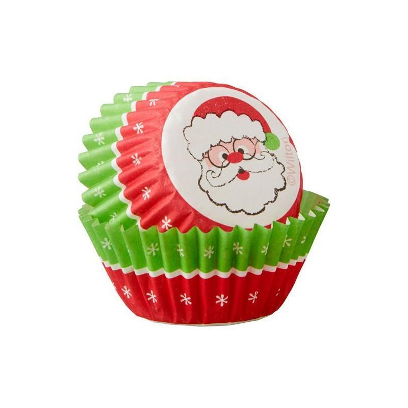 Capsulas mini cupcakes Muñeco Jengibre Lunares Navidad Wilton [CLONE]