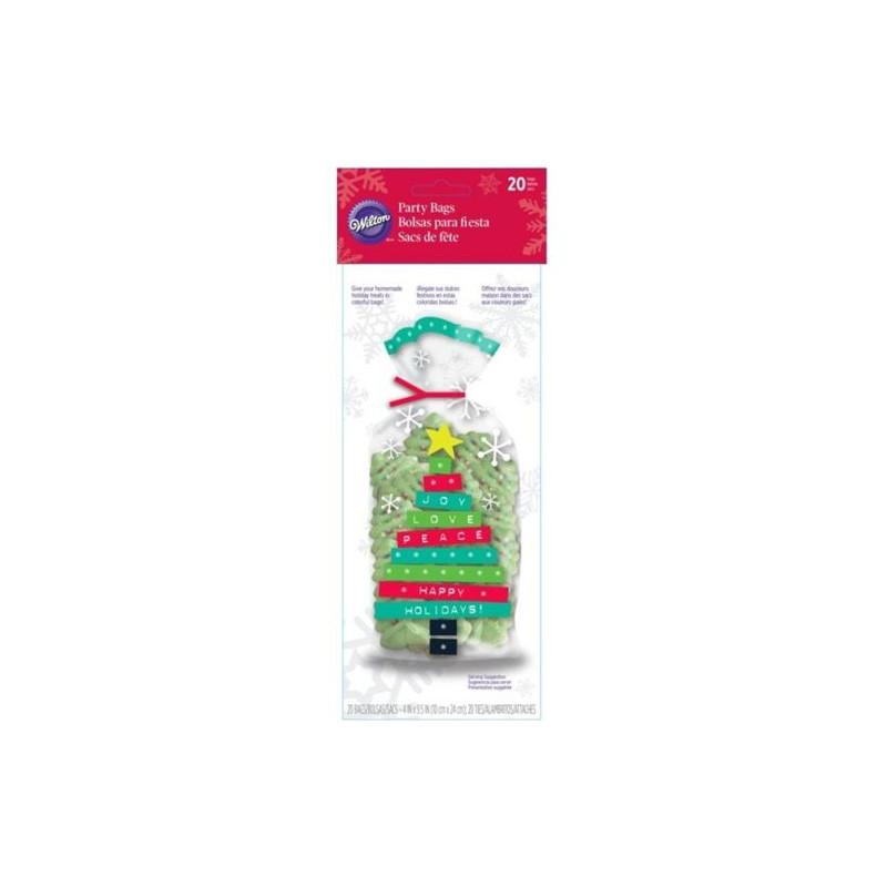 Pack de 15 bolsas Muñeco de Nieve Navidad Wilton [CLONE] [CLONE]