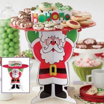 Stand de cartón Papa Noel Navidad Wilton