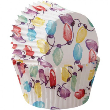 Cápsulas cupcakes Luces de Colores Wilton