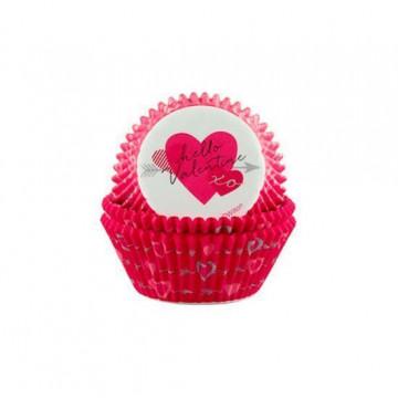 Cápsulas para cupcakes Hello Valentín Wilton